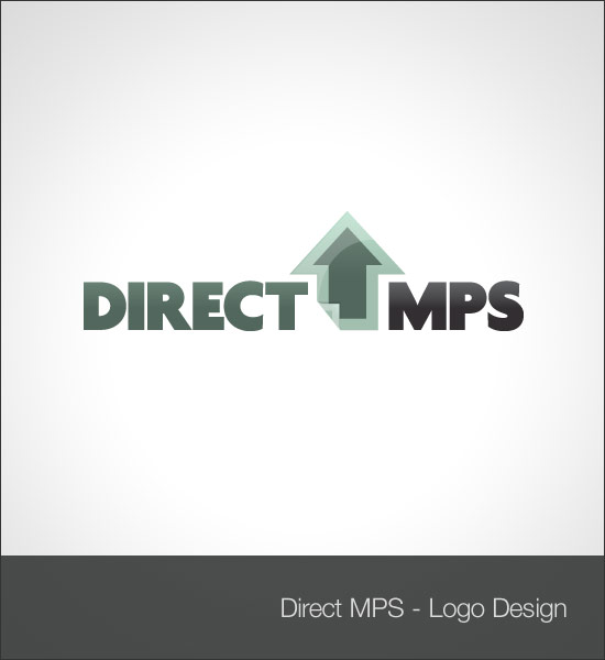 Direct mps logo design for Direct from the designers