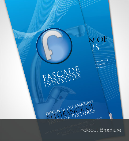 Fascade Industries Foldout Brochure Back